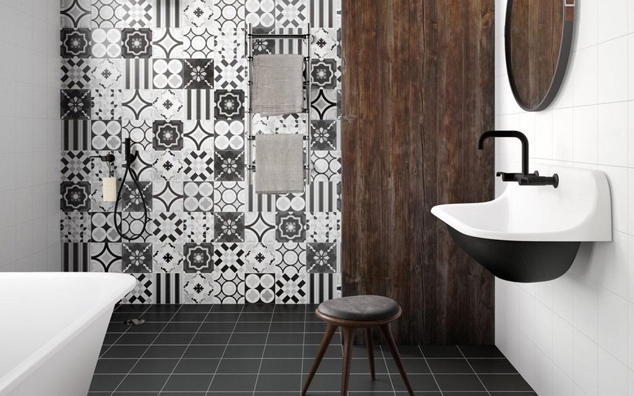 Rivestimenti bagno retrò: un progetto tre idee per arredare