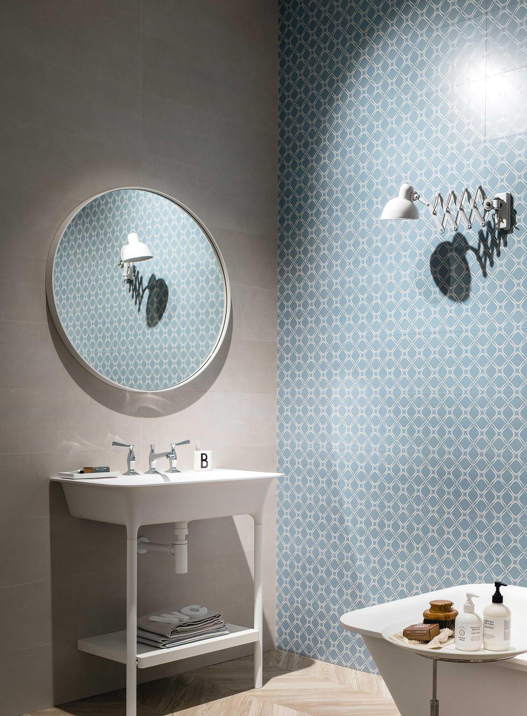 Rivestimento Bagno Con Maioliche bagno azul: le ceramiche azzurre per il bagno | ceramica
