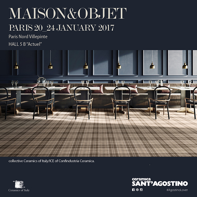 Maison objet paris 2017 ceramica sant 39 agostino - Maison objet paris 2017 ...