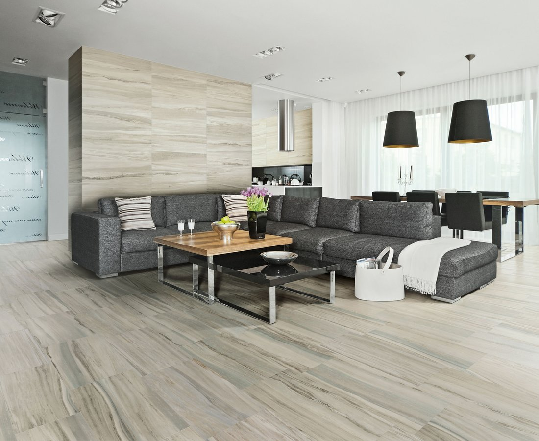 Living room tiles FLOW by Ceramica Sant'Agostino