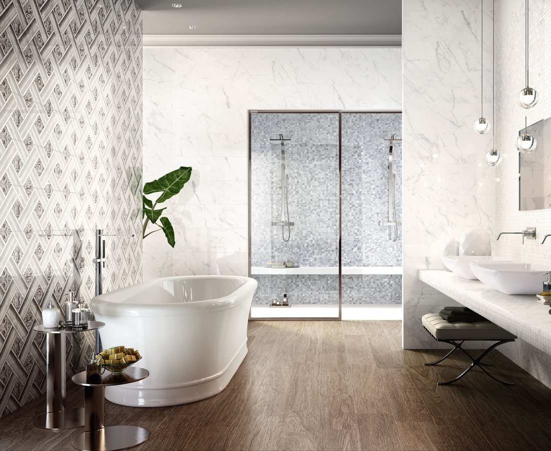 Bathroom tiles INSPIRE by Ceramica Sant'Agostino