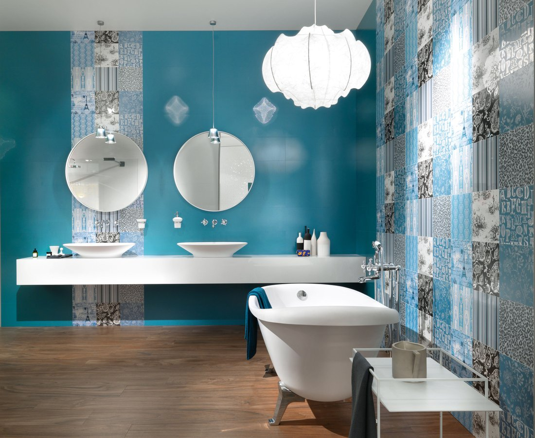 Bathroom tiles ITALIAN DREAM by Ceramica Sant'Agostino
