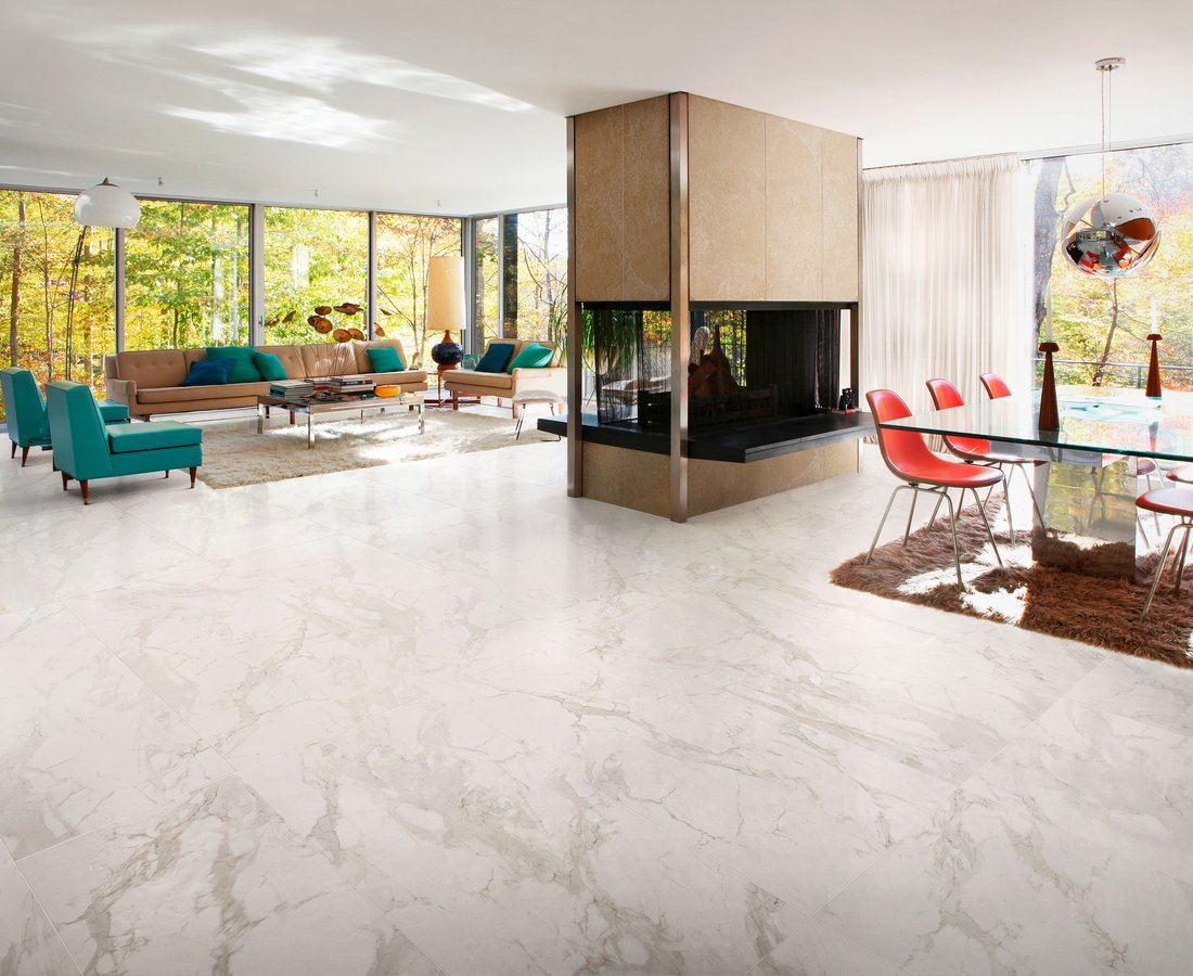 Living room tiles MARMOCREA by Ceramica Sant'Agostino