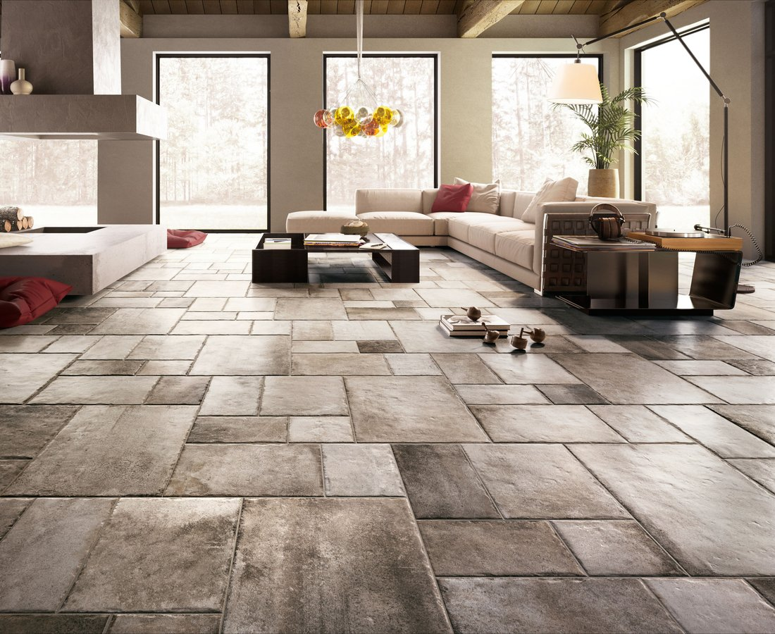 Living room tiles NATIVE by Ceramica Sant'Agostino