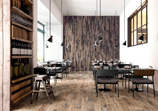 Pictart - wood effect porcelain stoneware