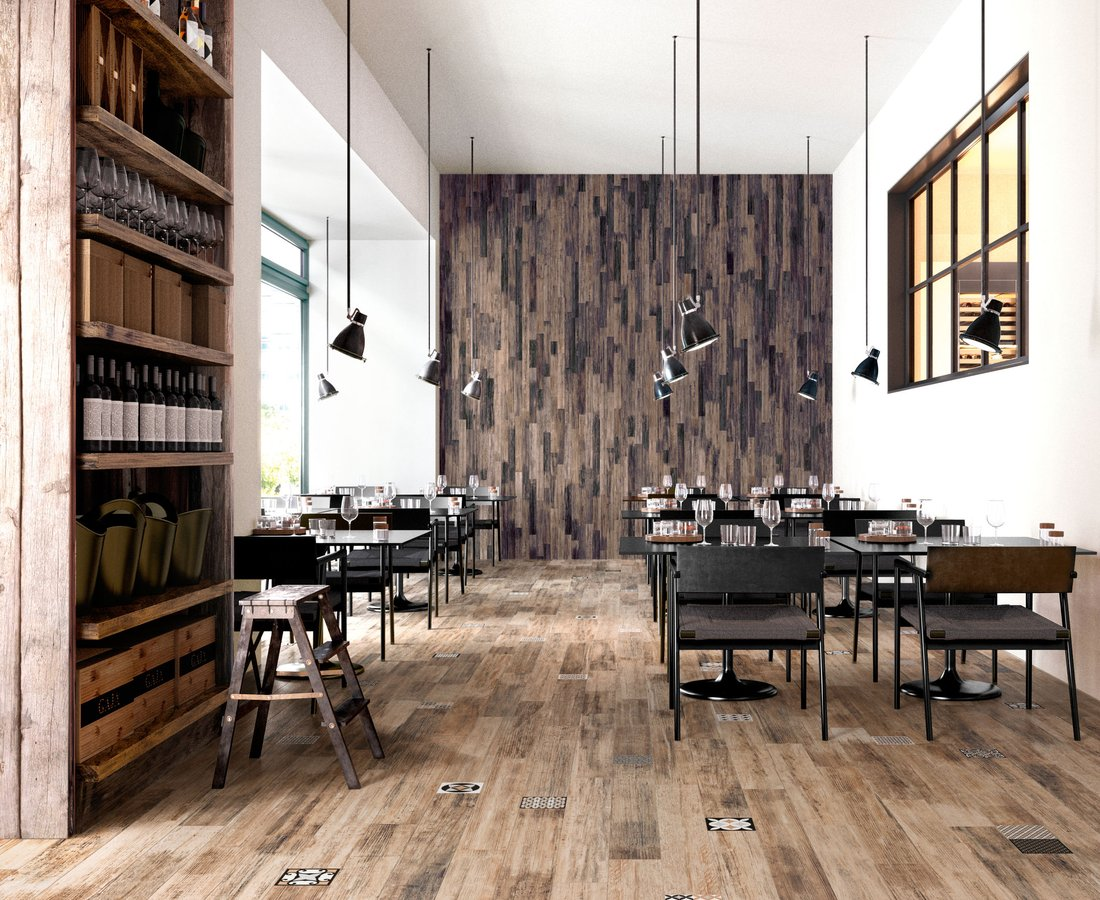 Commercial floor tiles PICTART by Ceramica Sant'Agostino