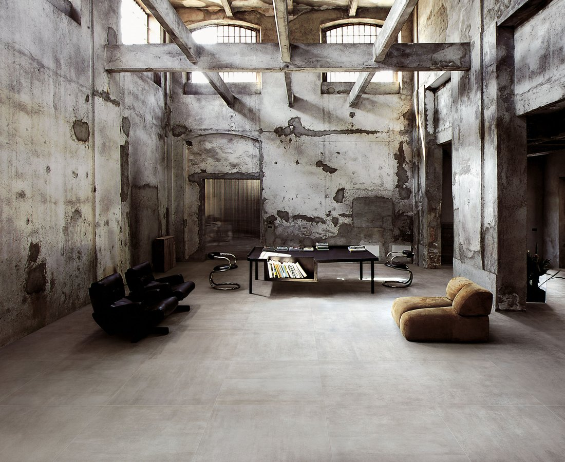 Living room tiles REVSTONE by Ceramica Sant'Agostino