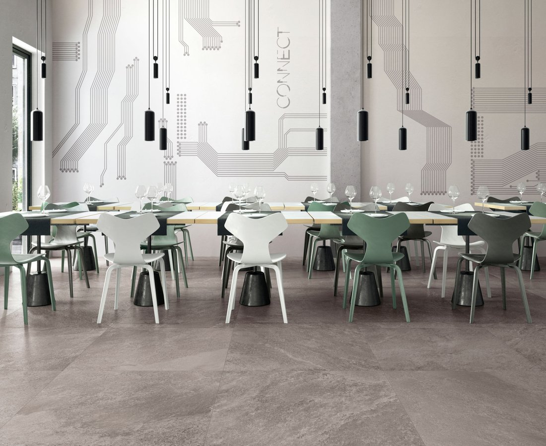 Commercial floor tiles SHADESTONE by Ceramica Sant'Agostino