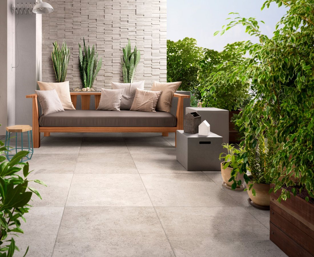 Living room tiles PIETRA EMILIANA by Ceramica Sant'Agostino