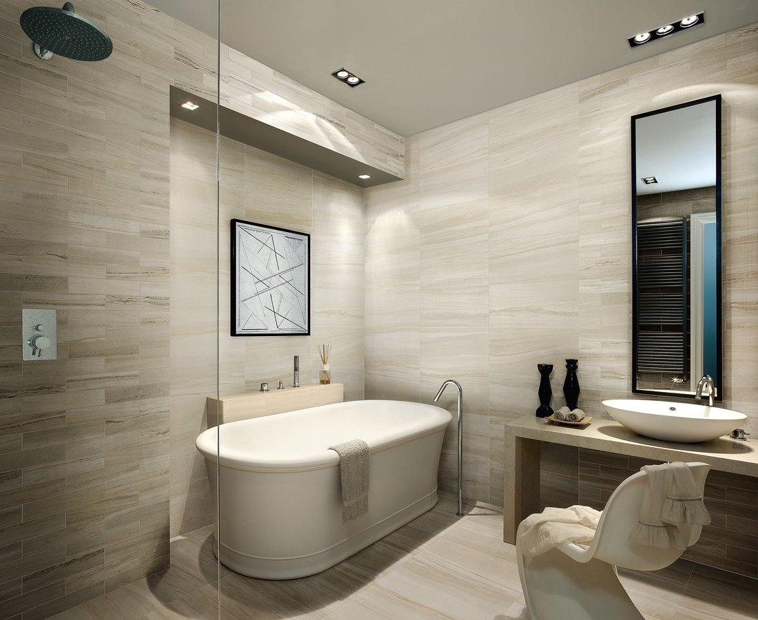 Bathroom tiles FLOW by Ceramica Sant'Agostino