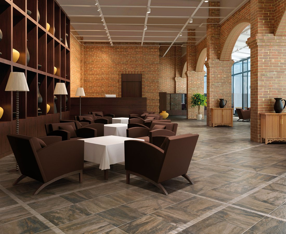 Commercial floor tiles PEARL by Ceramica Sant'Agostino