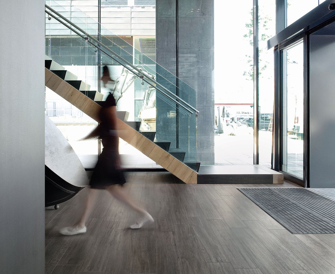 Commercial floor tiles S.WOOD by Ceramica Sant'Agostino