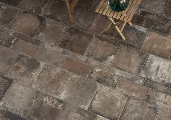Terre Nuove: terracotta effect