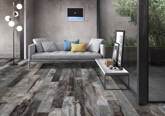 COLORART wood effect in porcelain stoneware