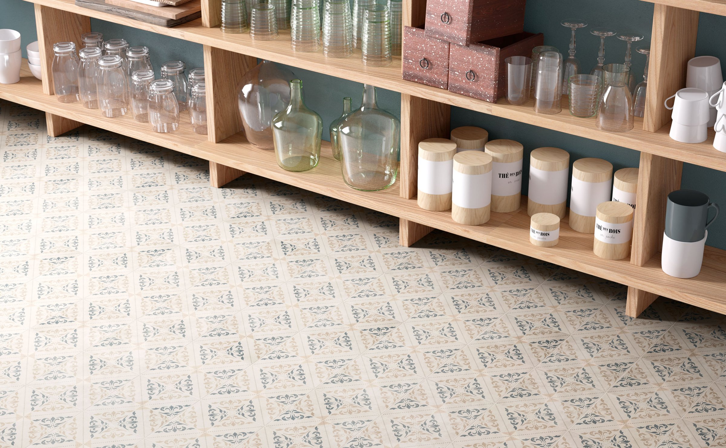 Patchwork Classic: cementine tiles