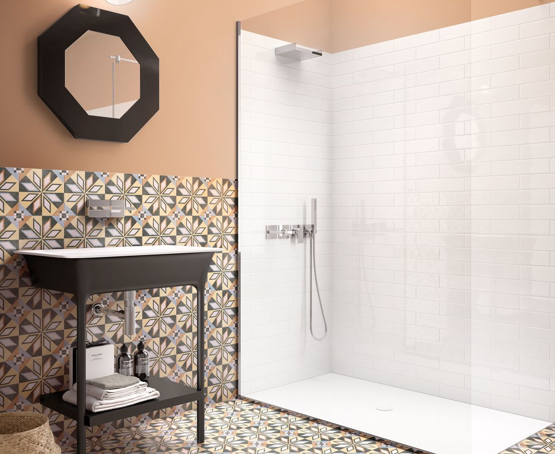 Bathroom tiles PATCHWORK COLORS by Ceramica Sant'Agostino