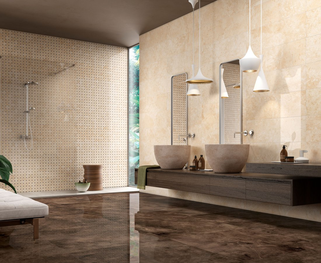 Bathroom tiles MARMOCREA by Ceramica Sant'Agostino