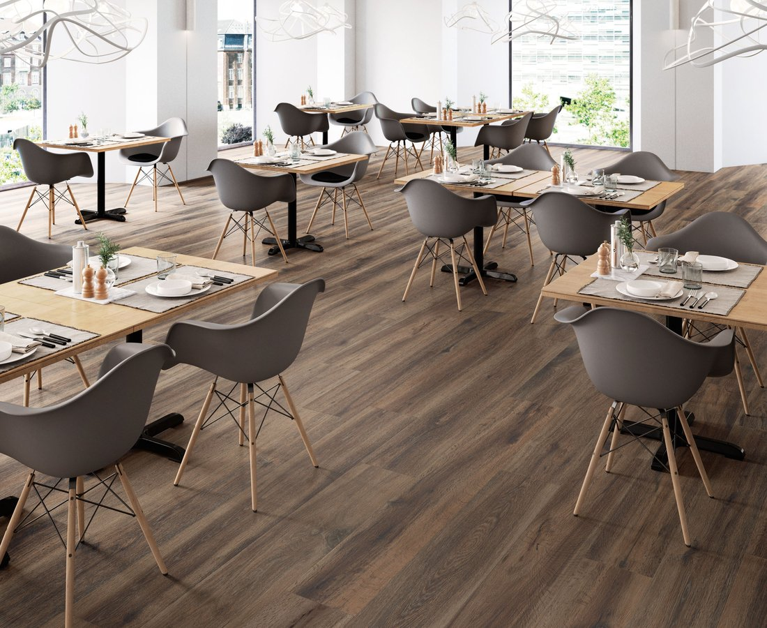 BARKWOOD, Brown tiles by Ceramica Sant'Agostino