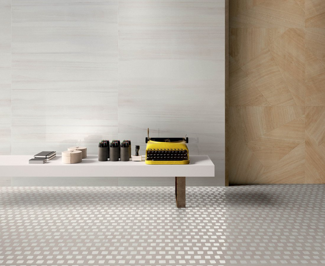 SET, White tiles by Ceramica Sant'Agostino