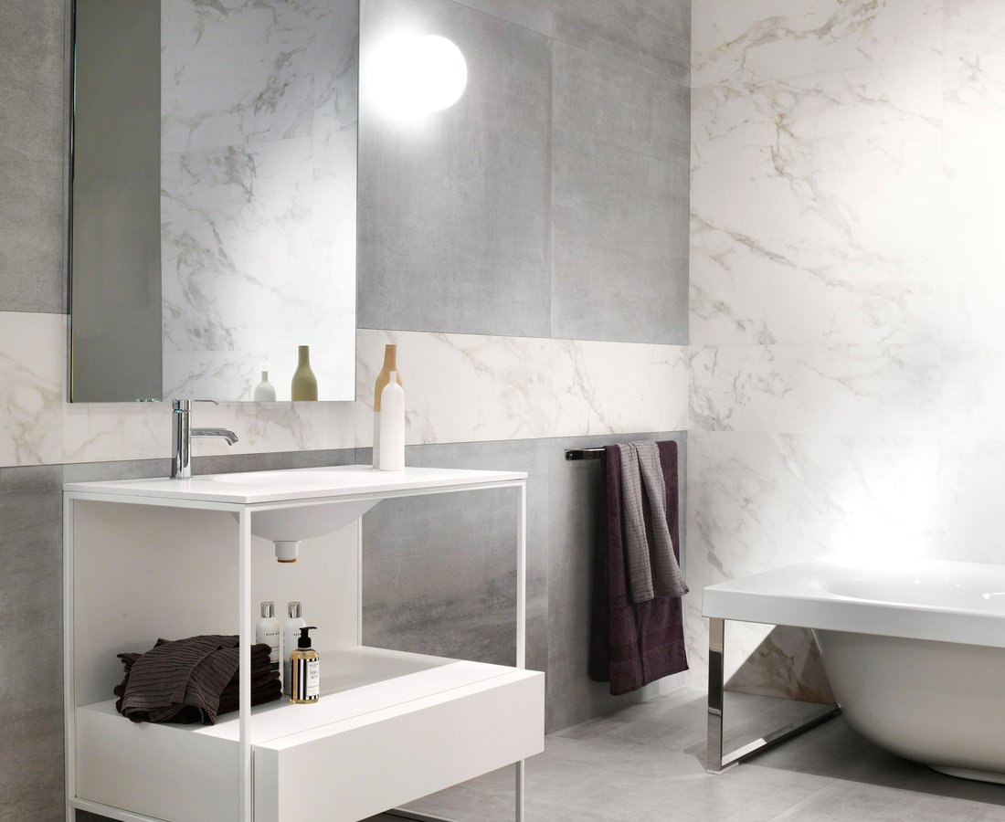 Bathroom tiles REVSTONE by Ceramica Sant'Agostino