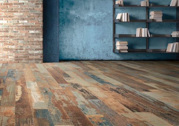 Blendart Wood Effect Porcelain Stoneware Flooring