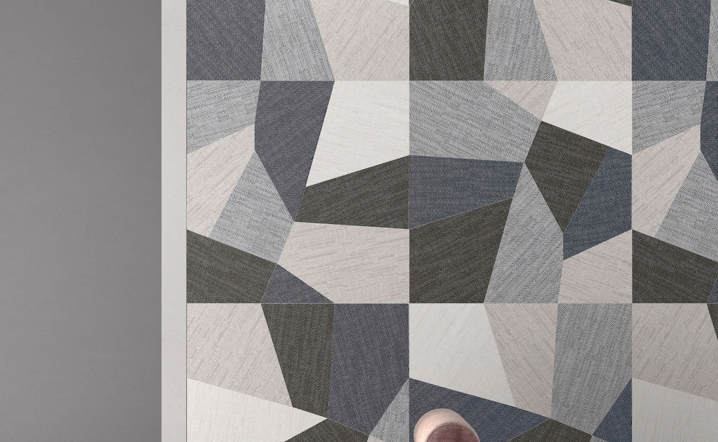 Digitalart: fabric effect tiles