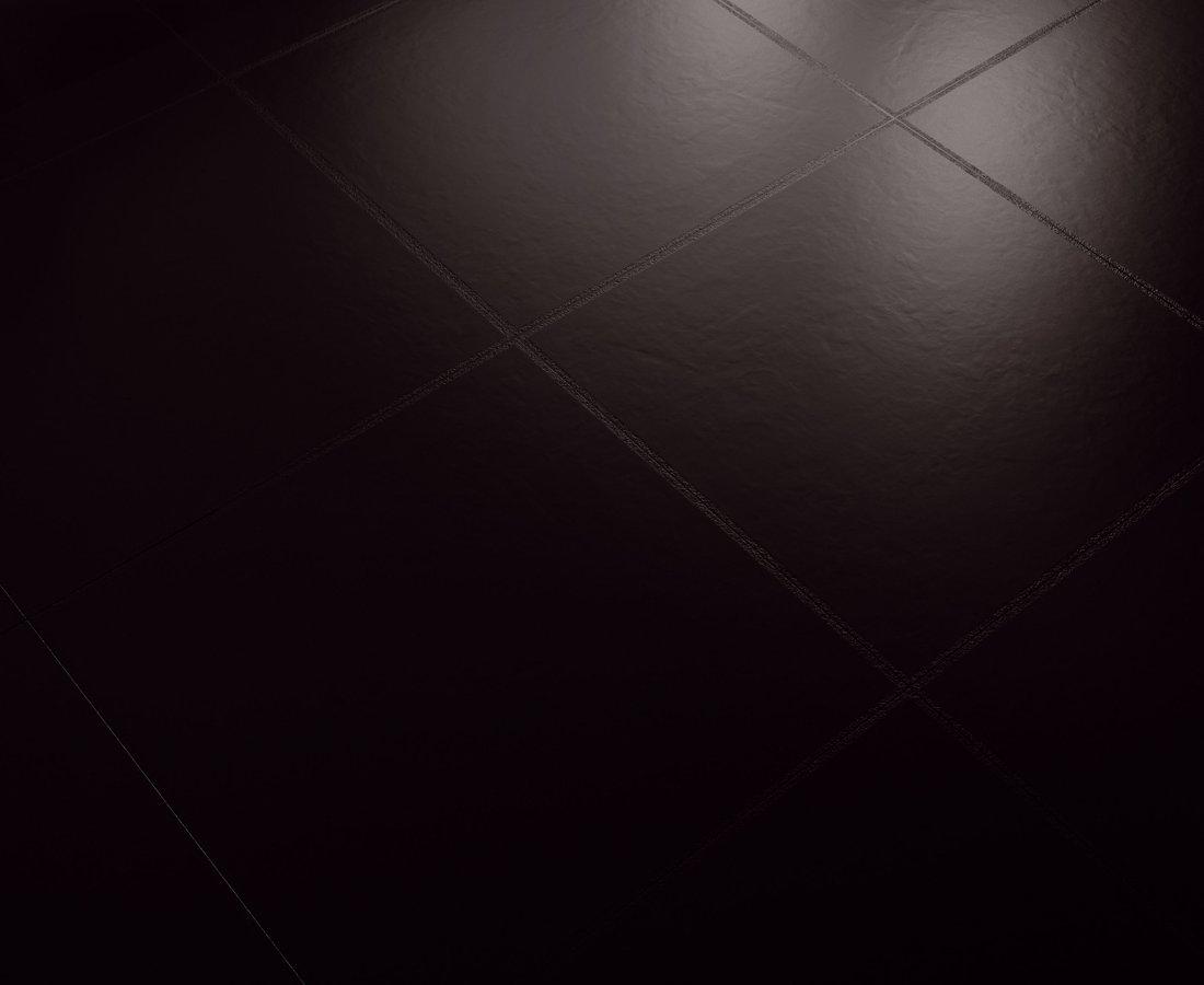 Piastrelle nere ceramica sant agostino