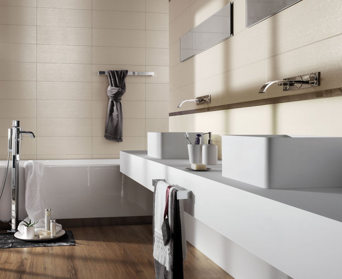 Bathroom tiles S.WOOD by Ceramica Sant'Agostino