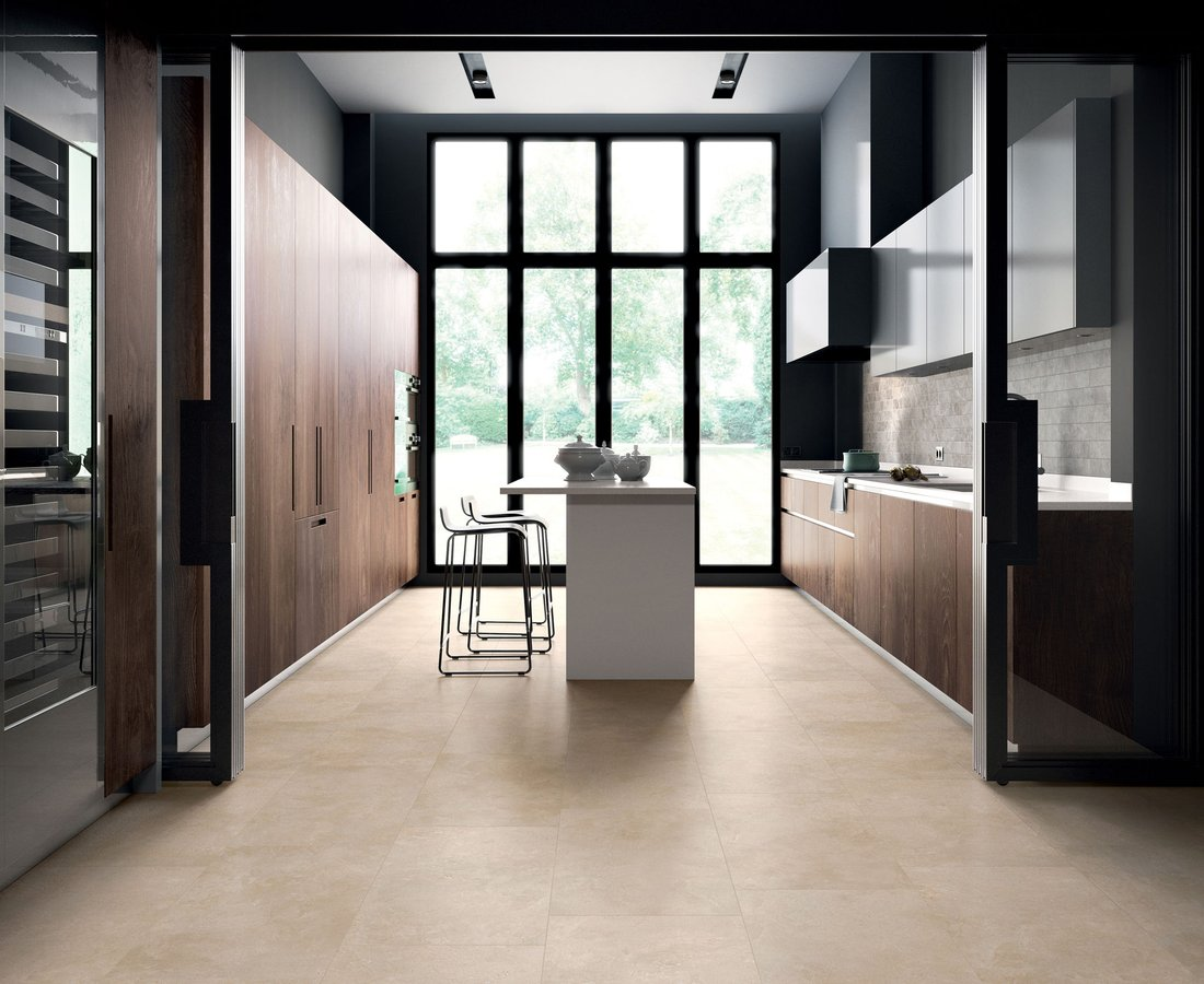 THEMAR, Beige tiles by Ceramica Sant'Agostino