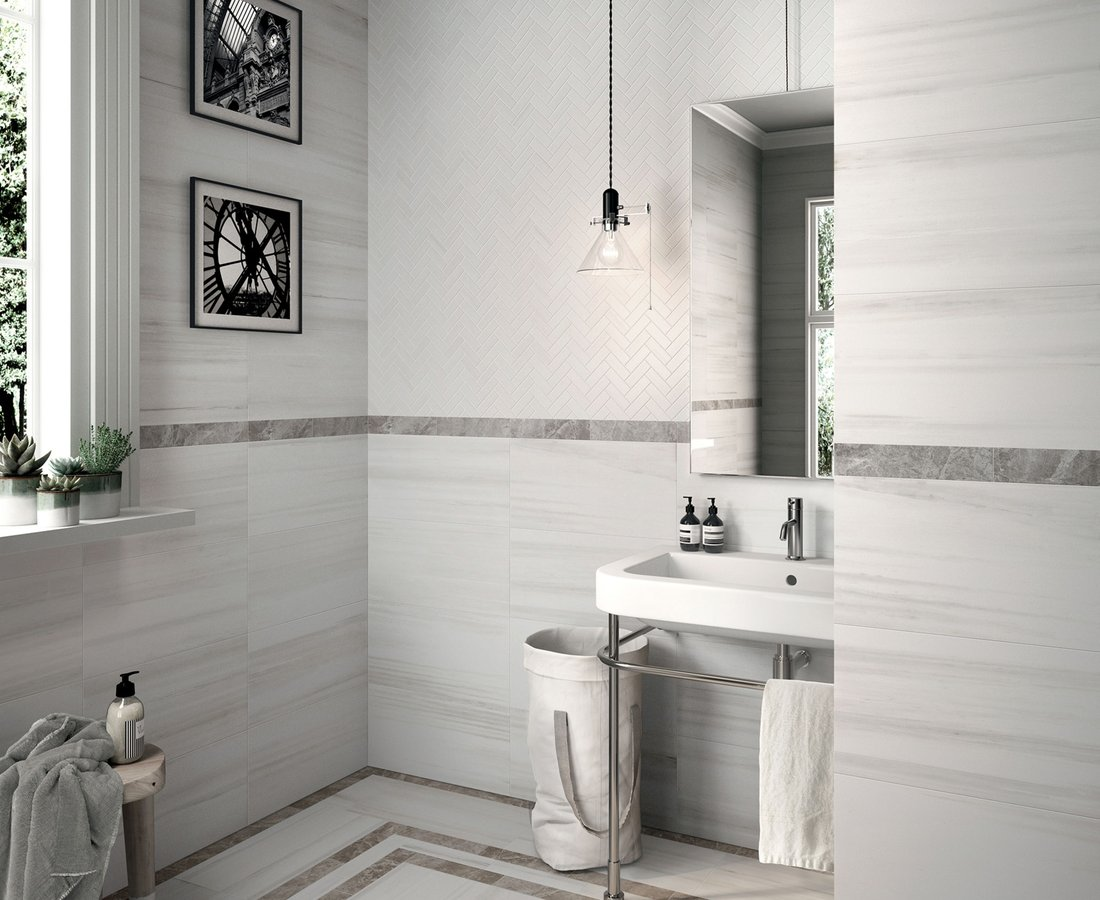 Bathroom tiles THEMAR by Ceramica Sant'Agostino