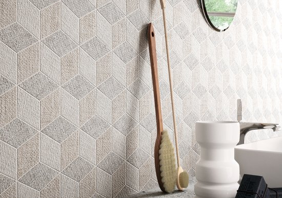 Fineart - Fabric effect ceramic tiles