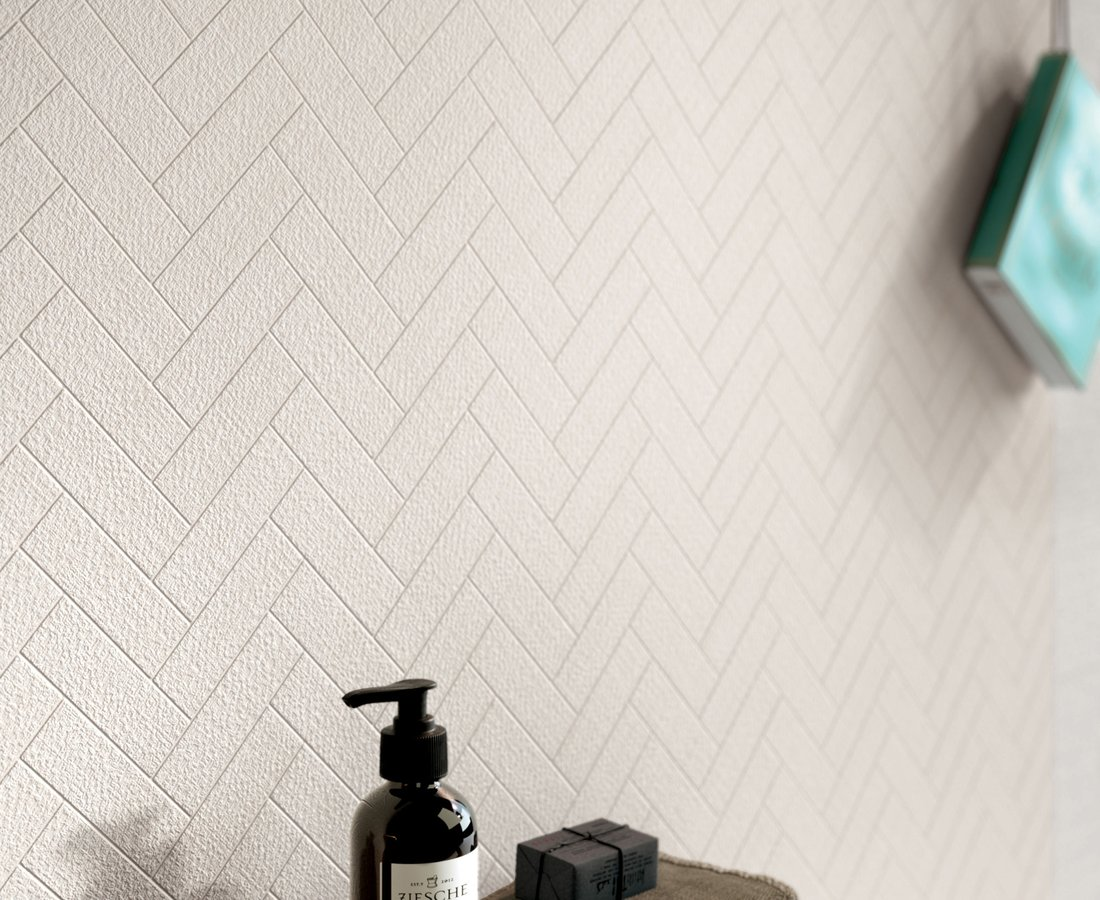 TAILORART, White tiles by Ceramica Sant'Agostino