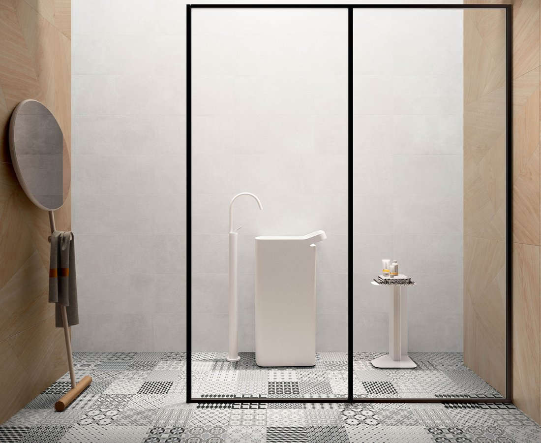 Bathroom tiles SET by Ceramica Sant'Agostino