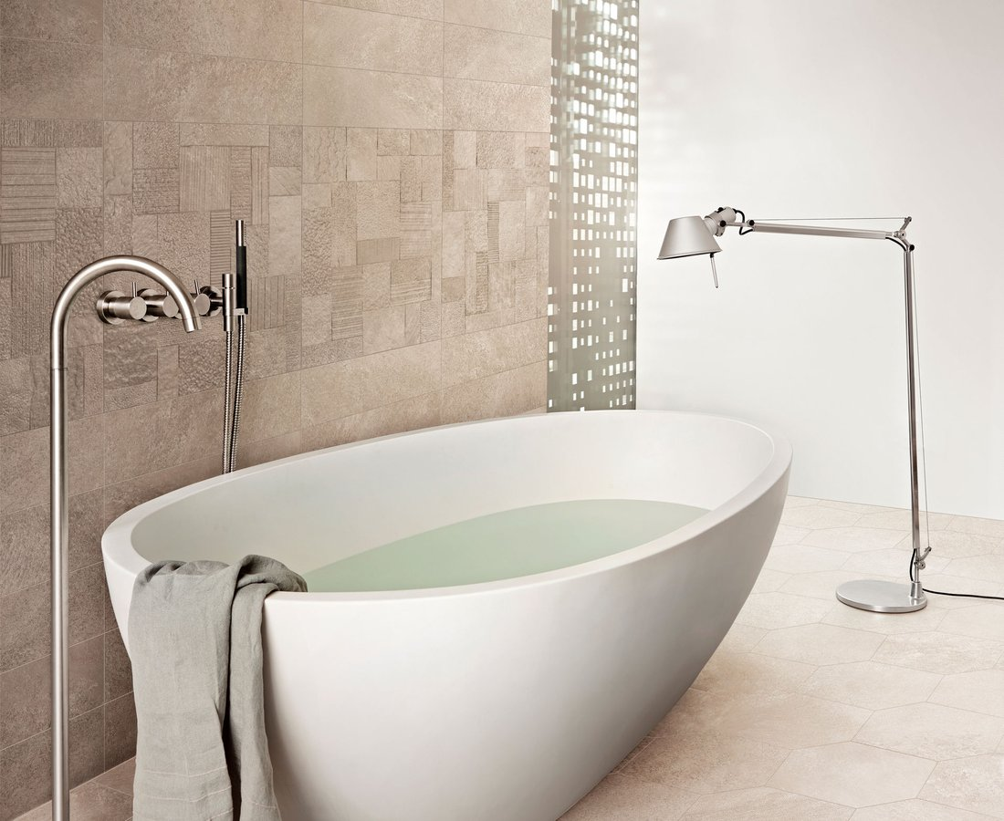 Bathroom tiles SHADESTONE by Ceramica Sant'Agostino
