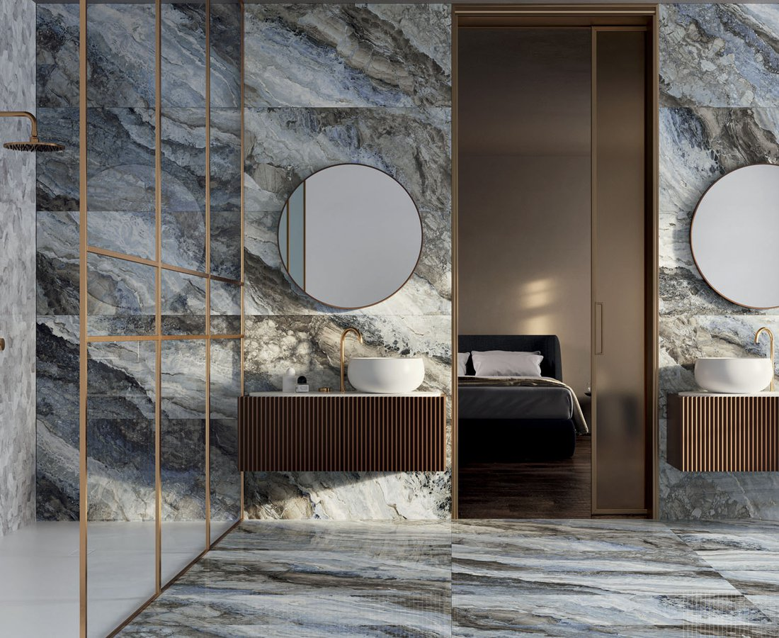 Bathroom tiles MYSTIC by Ceramica Sant'Agostino