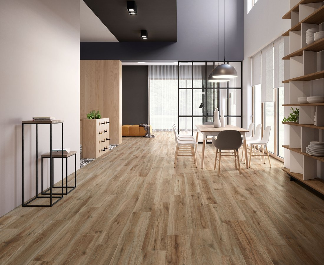 Living room tiles BARKWOOD by Ceramica Sant'Agostino