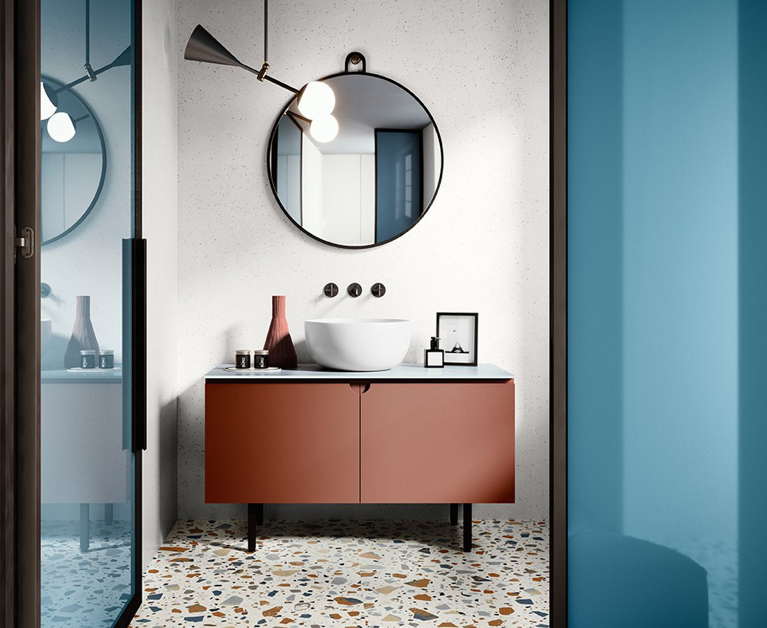 Bathroom tiles DECONCRETE by Ceramica Sant'Agostino