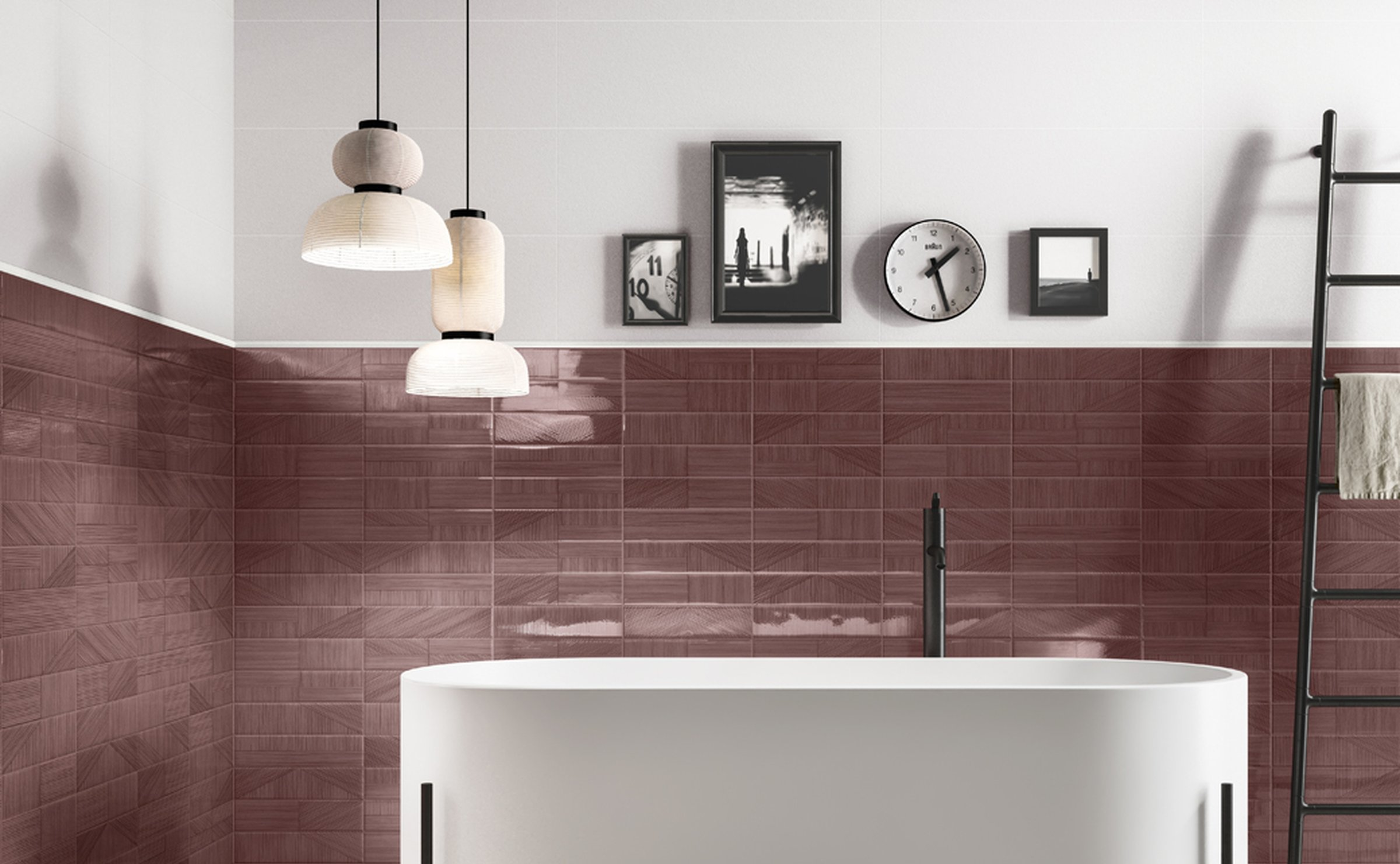 Decorline: decorated tiles