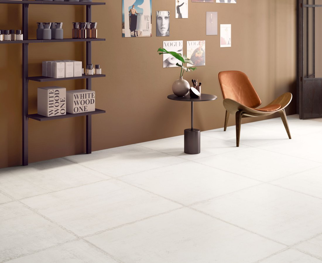 FORM, White tiles by Ceramica Sant'Agostino