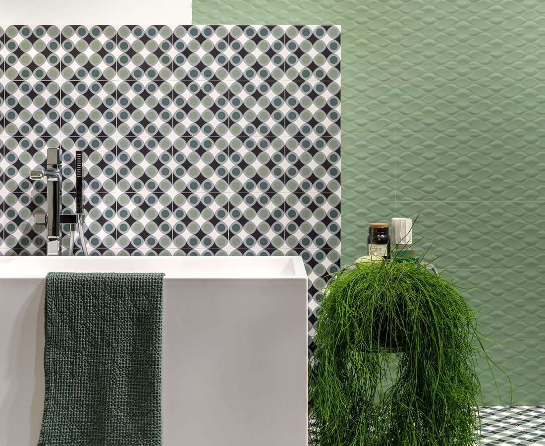 Bathroom tiles FUN by Ceramica Sant'Agostino