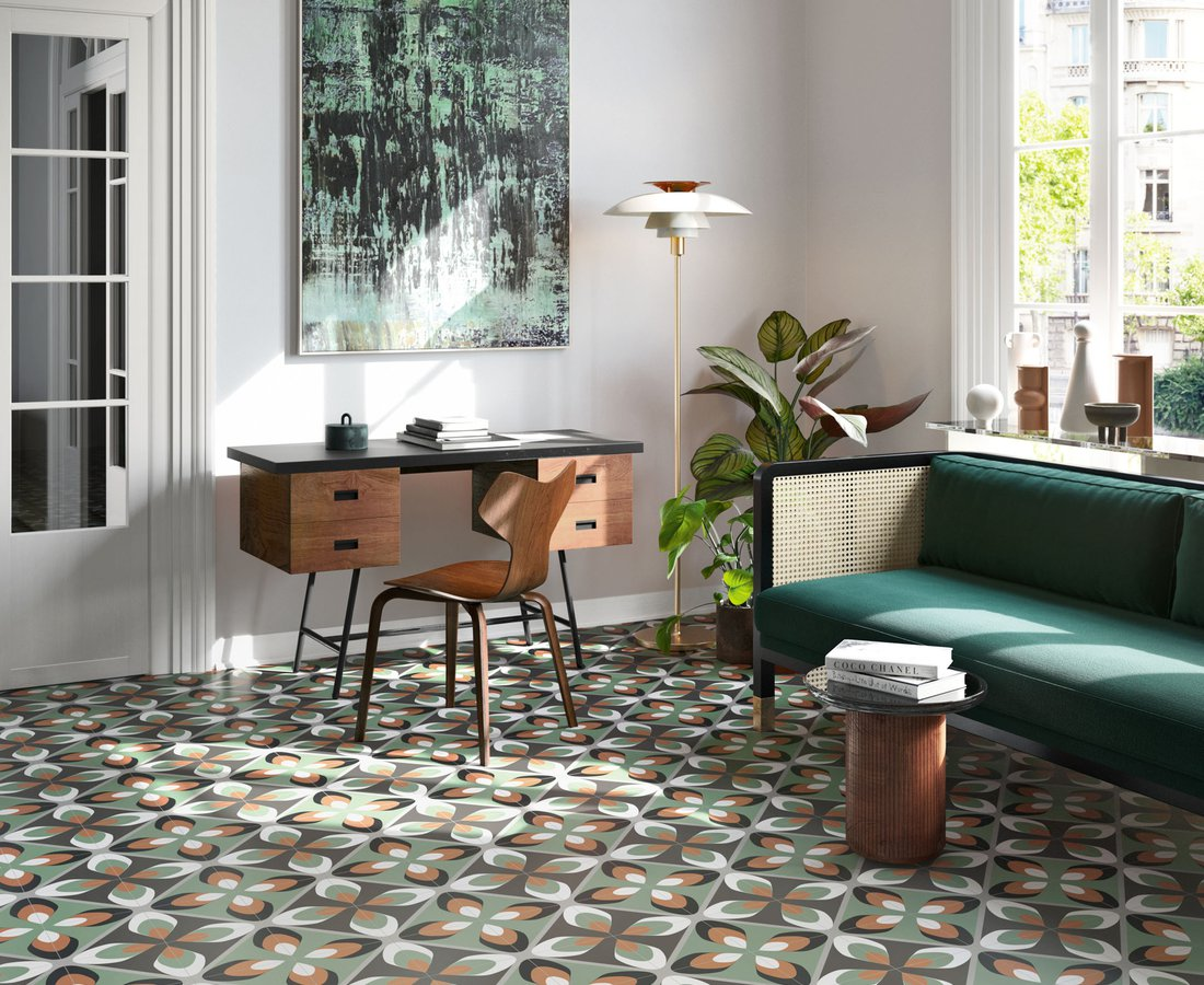 Living room tiles FUN by Ceramica Sant'Agostino