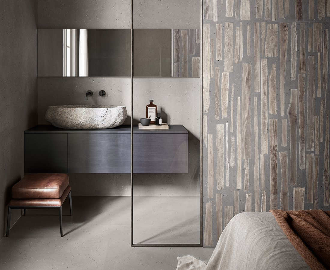 Bathroom tiles FUSIONART by Ceramica Sant'Agostino