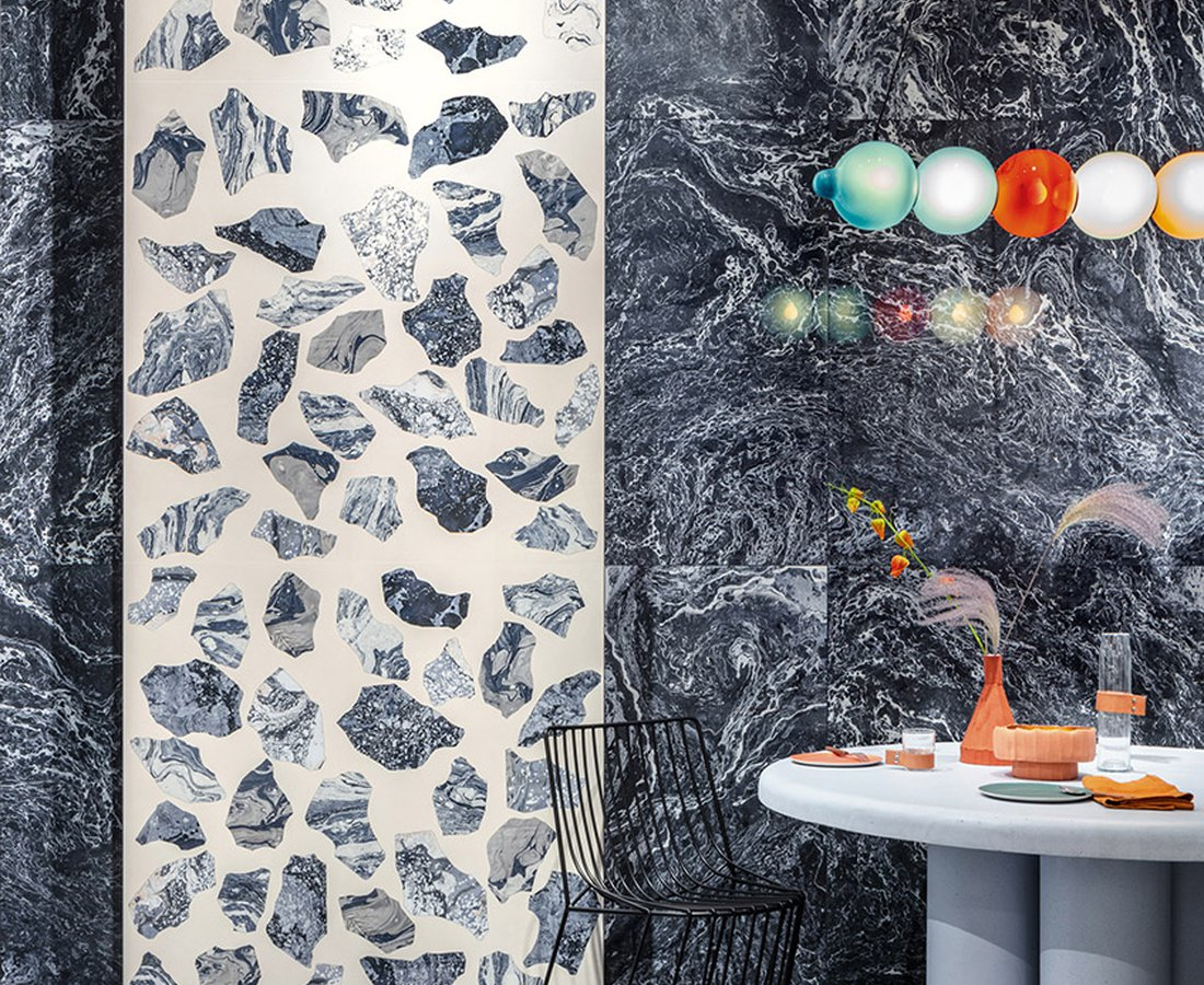 Living room tiles INSIDEART by Ceramica Sant'Agostino