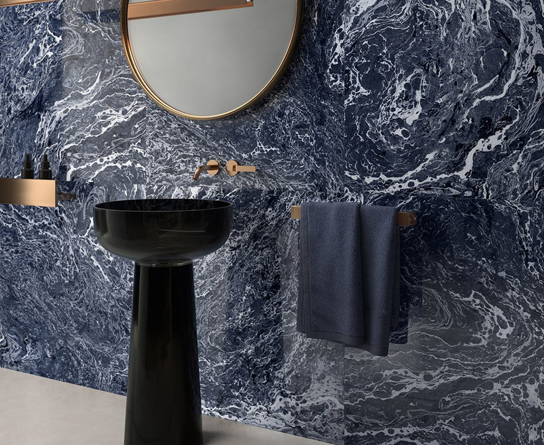 Bathroom tiles INSIDEART by Ceramica Sant'Agostino