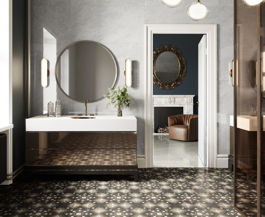 Bathroom tiles INTARSI GLAM by Ceramica Sant'Agostino