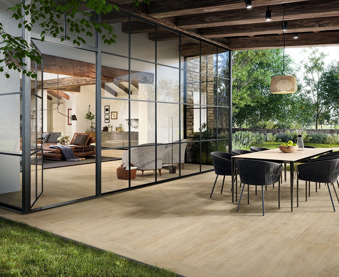 Outdoor floors PRIMEWOOD by Ceramica Sant'Agostino