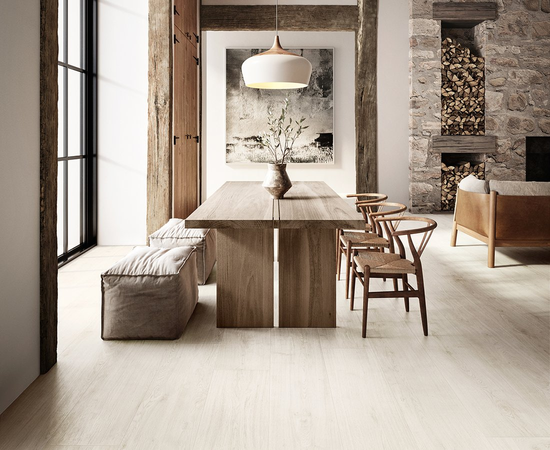 Living room tiles PRIMEWOOD by Ceramica Sant'Agostino
