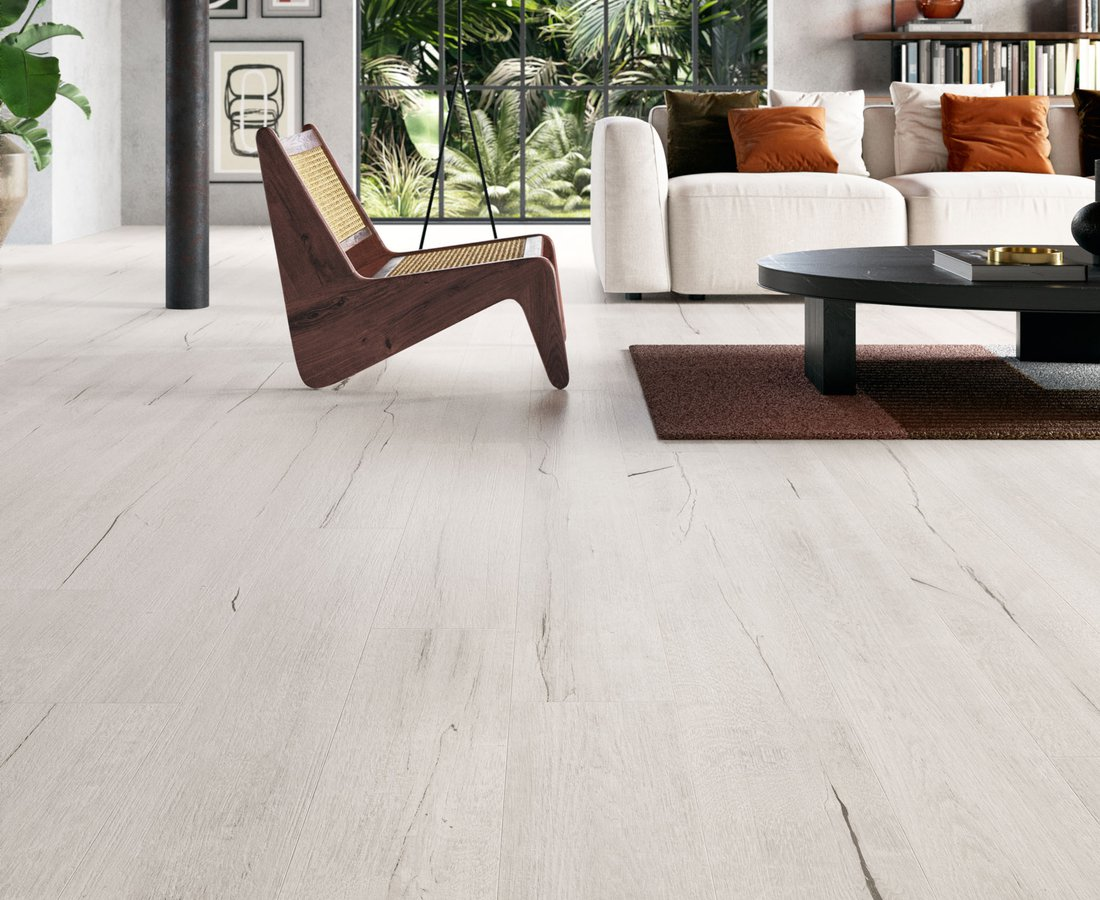 TIMEWOOD, Piastrelle Bianche by Ceramica Sant'Agostino