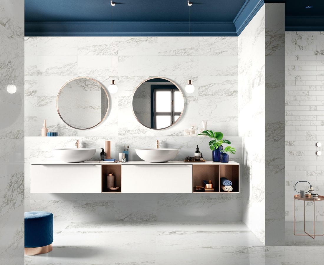 Bathroom tiles TRUMARMI by Ceramica Sant'Agostino