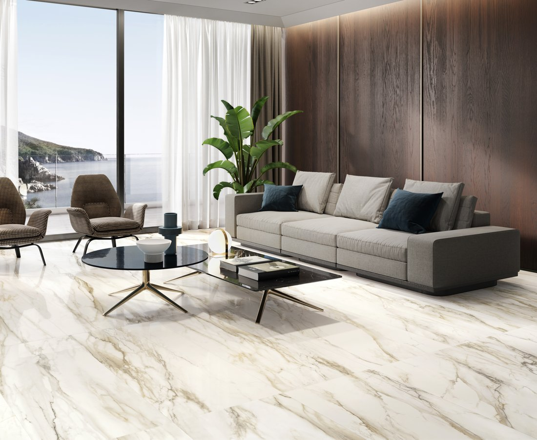 Living room tiles TRUMARMI by Ceramica Sant'Agostino